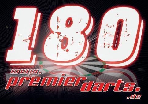 10 x 180er Schild Premierdarts