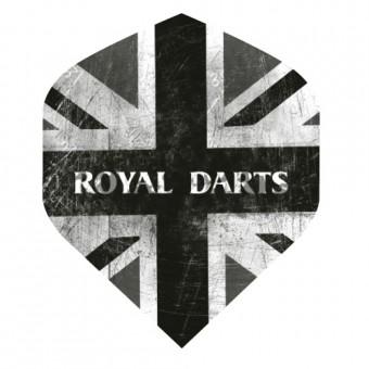 Royal Darts Flight Union Jack schwarz
