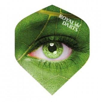 Royal Darts Flights Green Line Eye