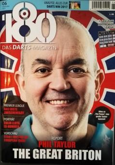 180 - Das DARTS-Magazin 06 - Frühling 2017