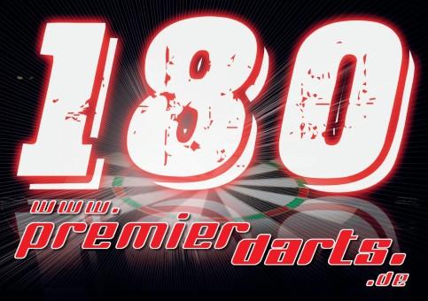 20 x 180er Schild Premierdarts