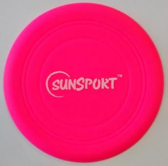 Wurfscheibe Neon Soft Disc PINK