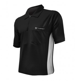Target Cool Play Hybrid Shirt Black & White - SALE