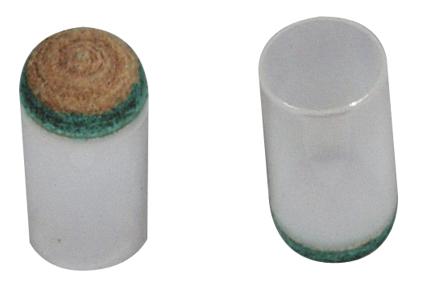 5er Pack Aufsteckleder 13mm Top Qualität