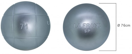 Boulekugeln La Franc SP 76 690,1