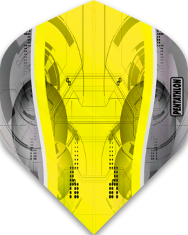 Pentathlon Flights Silver Edge Standard Yellow