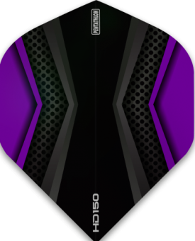 Pentathlon Flights HD 150 Two Colour Black & Purple