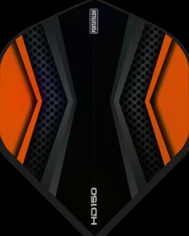Pentathlon Flights HD 150 Two Colour Black & Orange