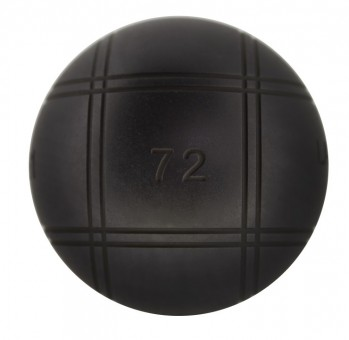 Boulekugeln La Franc SB (Soft Black) 72 680,2 | ohne Holzkoffer