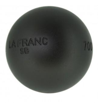 Boulekugeln La Franc SB (Soft Black) 75 690,0 | mit Holzkoffer