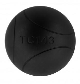 Boulekugeln La Franc SB (Soft Black) 76 710,4 | mit Holzkoffer