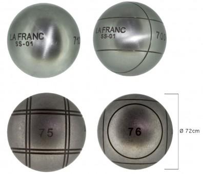 Boulekugeln La Franc SS-01 - 72