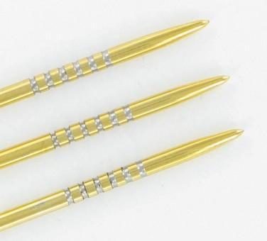 Bulls True Grip Gold Steel Points Steeldartspitzen 35mm