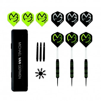 Michael van Gerwen Dart Set Rubberised
