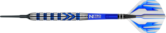 Red Dragon Gerwyn Price Blue Softdarts 22g