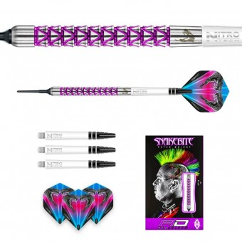 Red Dragon Peter Wright Snakebite Vyper Softdarts 20g
