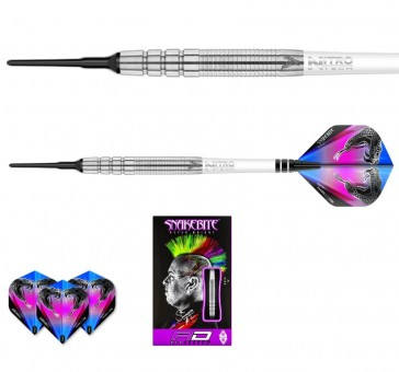 Red Dragon Peter Wright Snakebite BLUE PL15 Softdarts - 18g