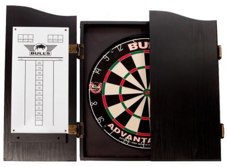 Bulls NL Dartboard DELUXE Cabinet Wood