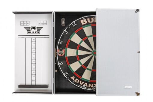 Bulls NL Dartboard HI-Q Cabinet Aluminium