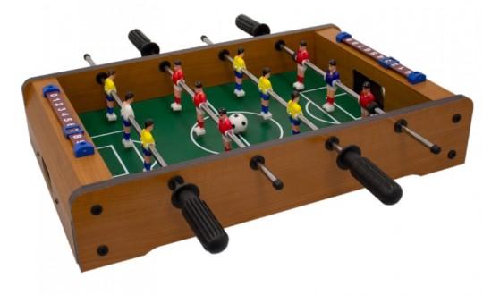 Tischfussballspiel inkl. 2 Bällen