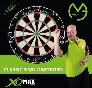 Michael van Gerwen Steeldartboard Kombi-Set Dartboard + Scoreboard