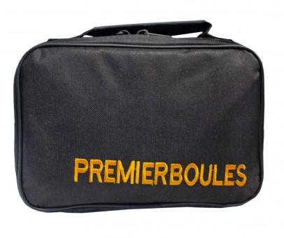 Premierboule Reissverschlusstasche für 6 Boulekugeln