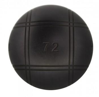 Boulekugeln La Franc SB (Soft Black) 72 700,2 | mit Holzkoffer