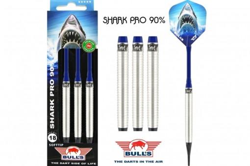 Bulls NL Shark PRO 90% Softdarts 18g