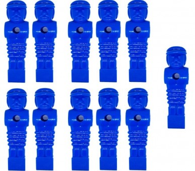 Kickerfigur Tournament Soccer blau 11 Stück