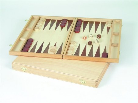 Backgammon-Kassette Buche