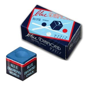Billardkreide Blue Diamond 2 Stück