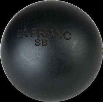 Boulekugeln La Franc SB (Soft Black) 74, 710, 0