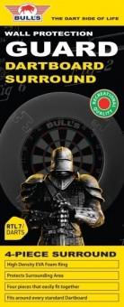 Bulls NL Dartboard Surround vierteilig ROT