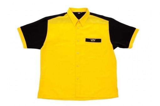 Bulls Dartshirt gelb-schwarz - SALE 3XL
