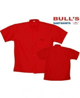 Bulls Dartshirt rot SALE 4XL