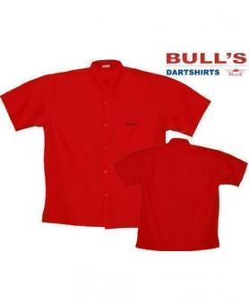 Bulls NL Dartshirt rot SALE 4XL