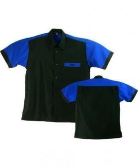 Bulls NL Dartshirt schwarz-blau - SALE 4Xl