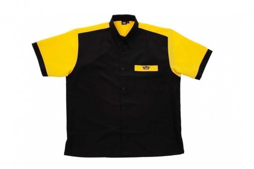 Bulls Dartshirt schwarz-gelb - SALE 2XL