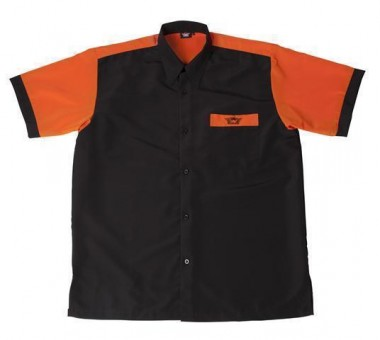 Bulls NL Dartshirt schwarz-orange SALE M