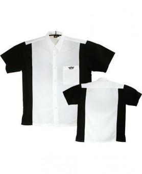 Bulls Dartshirt weiß-schwarz - SALE
