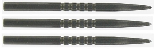 Bulls NL Steel Grip black Points 45mm - 1 Set = 3 Steeltips