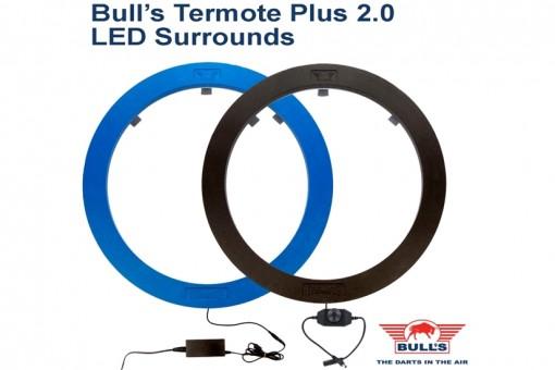 Bulls NL Termote 2.0 Led Unit - Dartboard Beleuchtung - SCHWARZ
