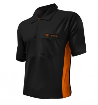 Target Cool Play Hybrid Shirt Black & Orange
