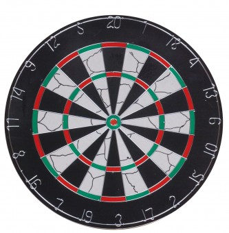 Dartboard Nylon Flocked 2,5 cm mit 6 Messingdarts