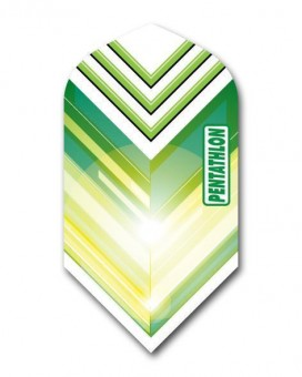 Flight Pentathlon green and white slim
