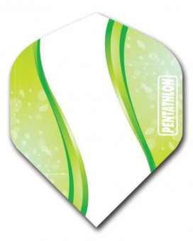 Flight Pentathlon green and white standard Wave