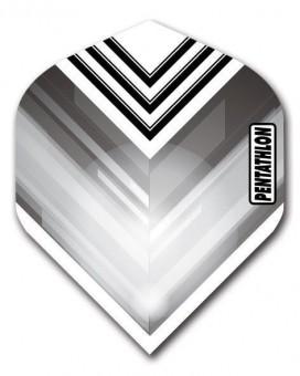 Flight Pentathlon grey and white standard geometric