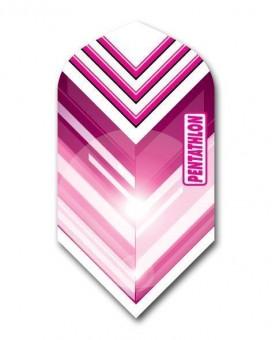 Flight Pentathlon pink and white slim
