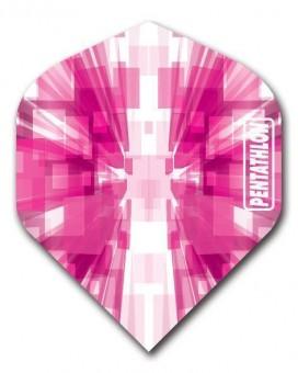 Flight Pentathlon pink and white standard