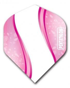 Flight Pentathlon pink and white Wave standard